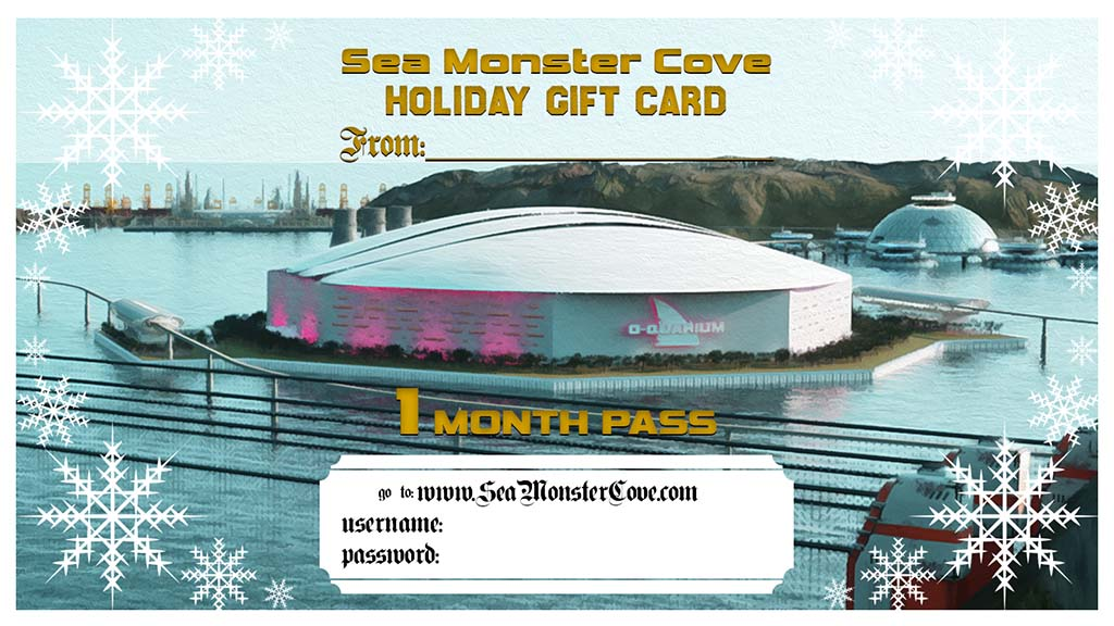 Sea Monster Cove Gift Card - 1 Month